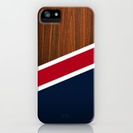 Wooden New England iPhone (5, 5s) Slim Case