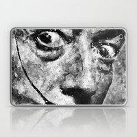 Dali's Eyes B&W Laptop & iPad Skin