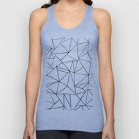 Ab Dotted Lines B On Gre… Unisex Tank Top