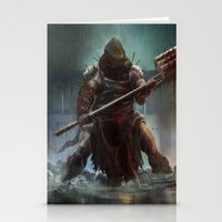 Executioner  Stationery Cards