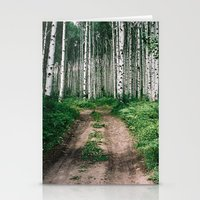 Aspen Trees Stationery Cards