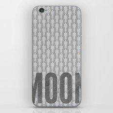 Moon Minimalist Poster iPhone & iPod Skin