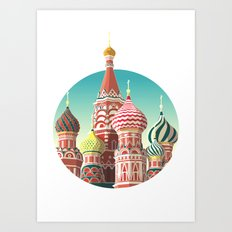 Saint Basil's Cathedral Art Print