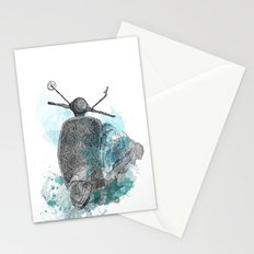 VESPA from the retro project Stationery Cards
