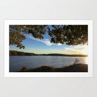 Boothbay Sunset - Main C… Art Print