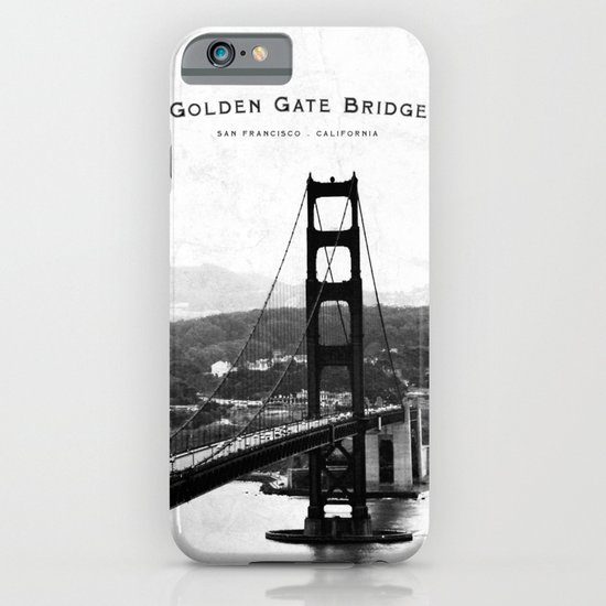 Golden Gate Bridge - San Francisco iPhone & iPod Case