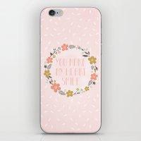 You Make My Heart Smile iPhone & iPod Skin