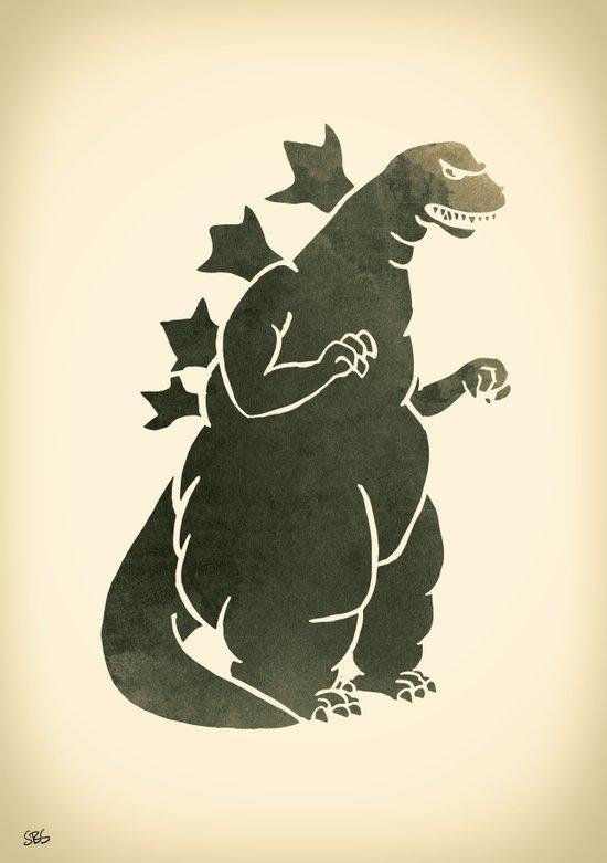 Godzilla - King of the Monsters Art Print