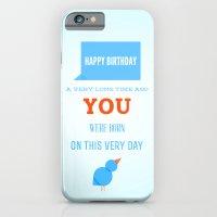 Happy birthday, Ancient One iPhone 6 Slim Case