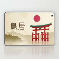 Torii Gate - Painting Laptop & iPad Skin