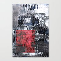THE ETHNOLOGY Canvas Print