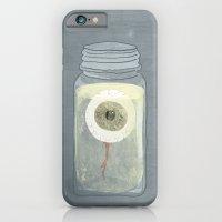 Eyeball in Mason Jar iPhone 6 Slim Case