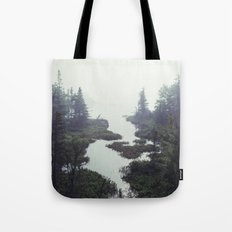 Moonlit Fogscape Tote Bag