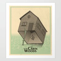 The Cabin In The Woods -… Art Print