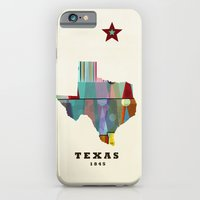 Texas state map modern iPhone 6 Slim Case