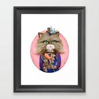 Rich Pussy Framed Art Print
