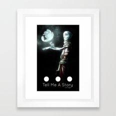 Tell Me A Story... Framed Art Print