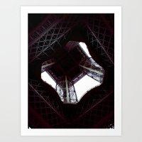 UNDER THE SKIRT OF THE E… Art Print