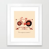 Music Traveler Framed Art Print