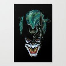 Joker - Darkest Knight  Canvas Print