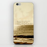 Where are you going iPhone & iPod Skin