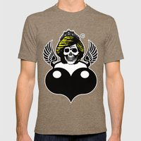 Dead Princess Mens Fitted Tee Tri-Coffee SMALL