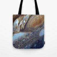 Jupiter Swirls Tote Bag