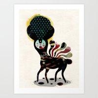 Duality - Muxxi X Alvaro Tapia Art Print