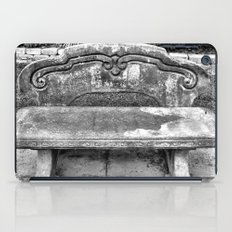 Lone Bench iPad Case