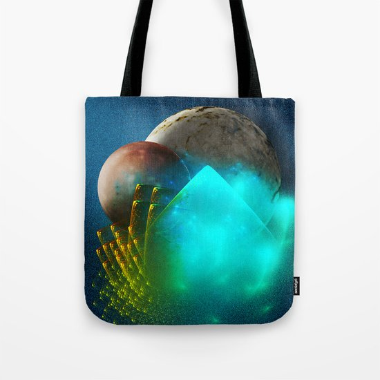 New worlds ripe for exploring Tote Bag