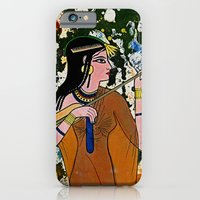 iPhone Cases featuring The Egyptian Enchantress by Michael Moffa by EmporioMoffa