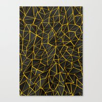 Yellow Wire Canvas Print