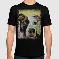 Pit Bull SMALL Black Mens Fitted Tee