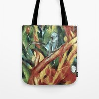 Monkey After Franz Ma… Tote Bag