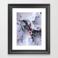 Birdfood Framed Art Print