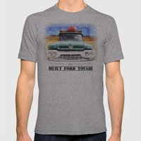 Built Ford Tough Mens Fitted Tee Athletic Grey SMALL