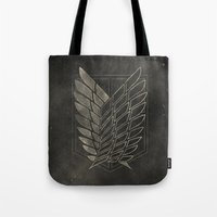 Attack on Titan  Tote Bag