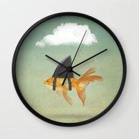 UNDER A CLOUD Wall Clock