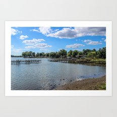 Buckeye Lake 2 Art Print