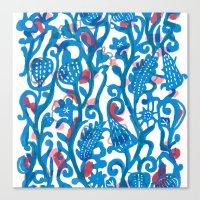 Climbing Vine Canvas Print