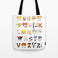 Child Of The 90s Alphabe… Tote Bag