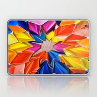 Rainbow Explosion Laptop & iPad Skin