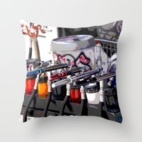 Only Temporary  Throw Pillow