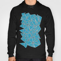 Shattered Ab Blue Hoody