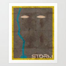Minimalist Storm Art Print