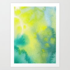 Water and color 10 Art Print