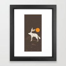 Dazed Gaze Framed Art Print