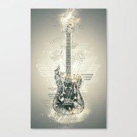 Frankenstrat Canvas Print