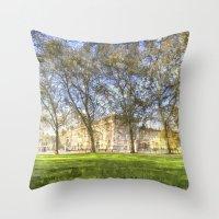 Buckingham Palace Art Throw Pillow