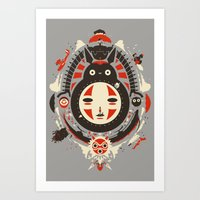 anime Art Prints featuring A New Wind by The Art of Danny Haas